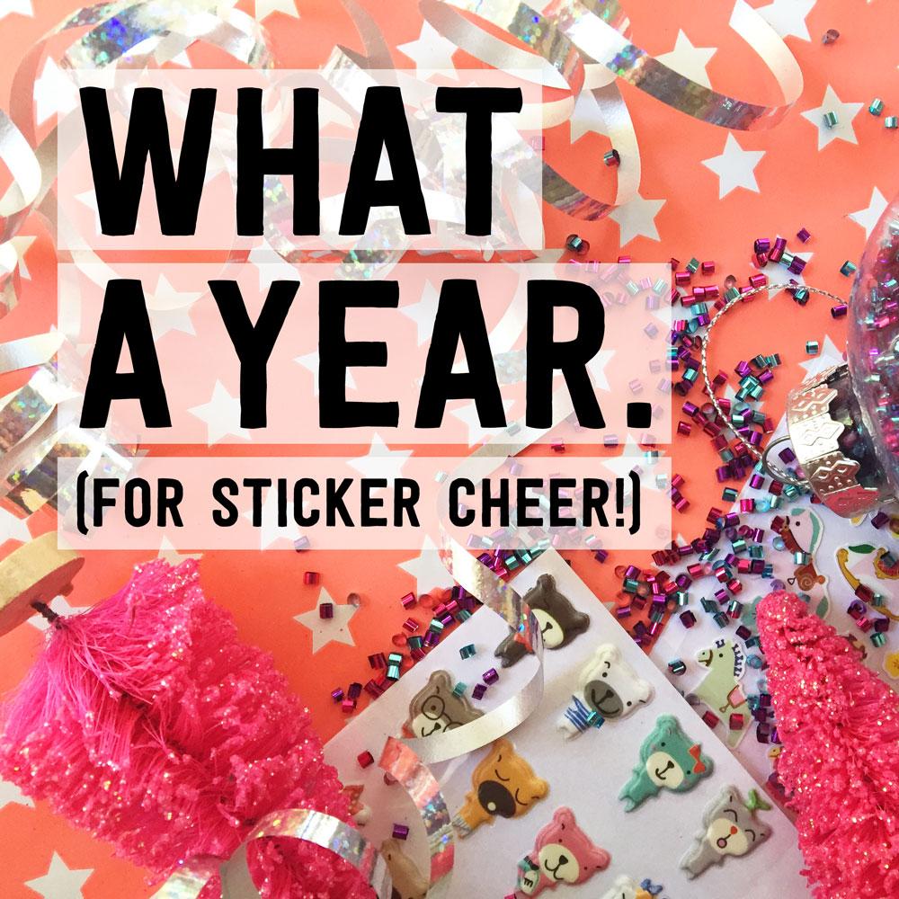 12 Days of Sticker Cheer: Woo Hoo Winners!