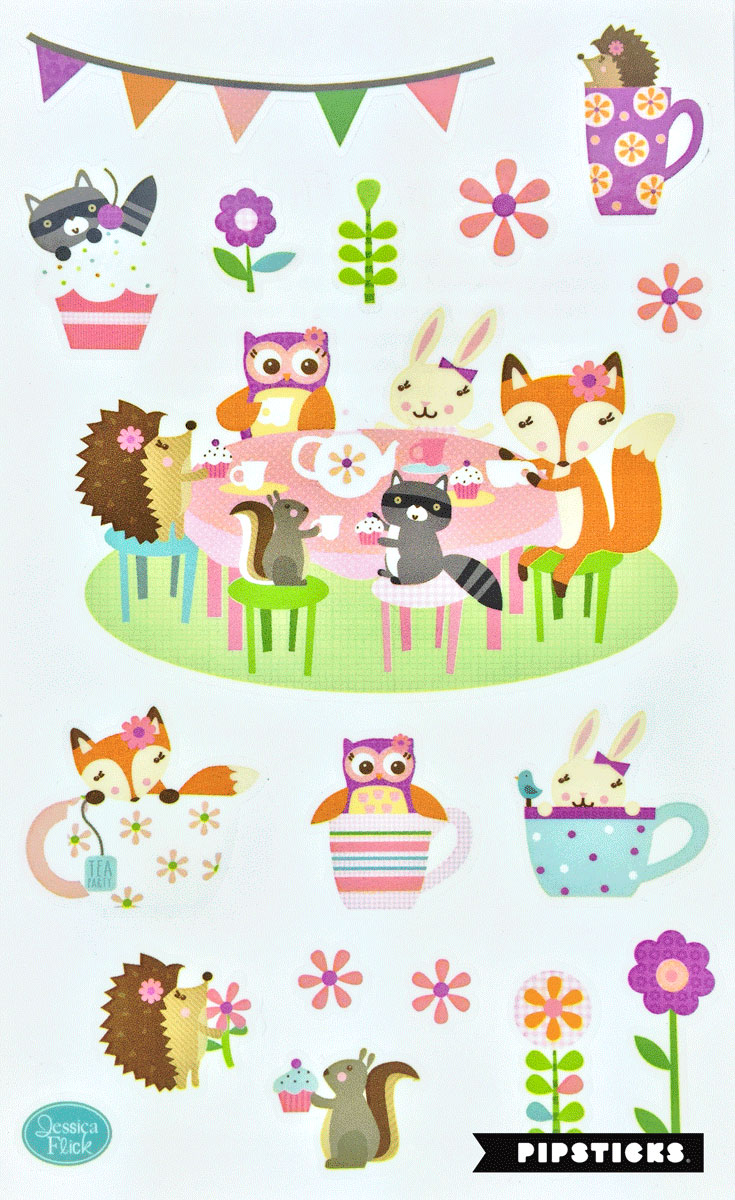 abbastanza Kawaii stickers have a lot to smile about - Pipsticks FH72
